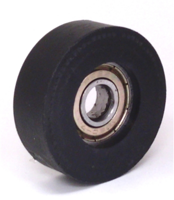 8mm Bore Bearing with 34mm Plastic Tire Top view
