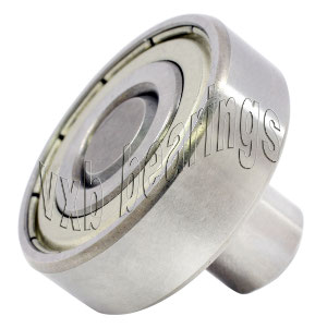 "1/8"" Inch Ball Bearing with integrated Axle:1/8""x3/8""x1/2"":VXB Ball Bearing"