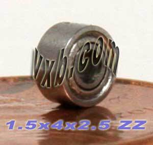 Bearing 1.5x4x2.5 Shielded:vxb:Ball Bearing