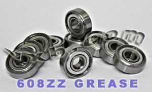 608ZZ Shielded Ball Bearings:VXB:8x22x7