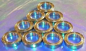 10 Bearing 6701ZZ 12x18x4 Shielded:vxb:Ball Bearing