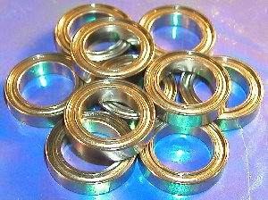 10 Bearing 6701ZZ 12x18x4 Shielded:vxb:Ball Bearings