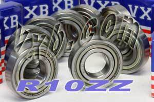 "10 Bearings R10ZZ 5/8""x1 3/8""x11/32"" Shielded:vxb:Ball Bearings"
