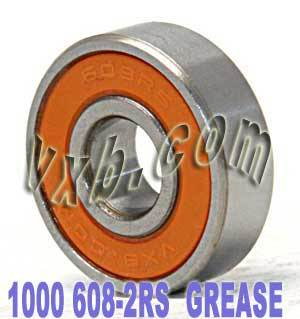 1000 Sealed Skateboard/inline/Rollerblade Skate Bearings:vxb:Ball Bearing
