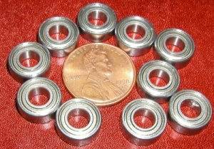 10 Bearing Shielded 5x11x4:vxb:Ball Bearings