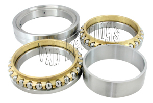 130TAD20 P5 Double-direction Thrust Load Angular Contact Ball Bearing 130x200x84