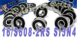 16-S608-2RS ball bearings:VXB