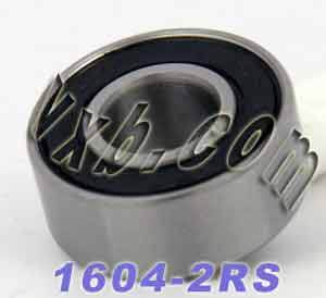 "1604-2RS Bearing 3/8""x7/8""x11/32"" inch Sealed:vxb:Ball Bearing"