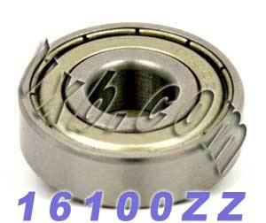 16100ZZ Bearing 10x28x8 Shielded:vxb:Ball Bearing