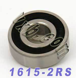 "1615-2RS Sealed Bearing 7/16""x1 1/8"" x 3/8"" :vxb:Ball Bearing"