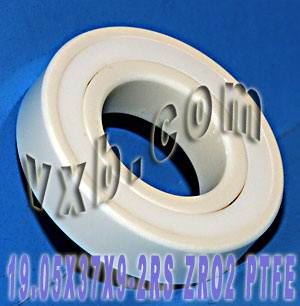 Full Ceramic Sealed Bearing 19.05mmx37x9 ZrO2:vxb:Ball Bearing