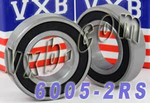 6306-2RS Bearing 25x47x12 Sealed:vxb:Ball Bearing