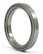 20x25x4mm thin section Double Shielded deep groove Ball Bearing