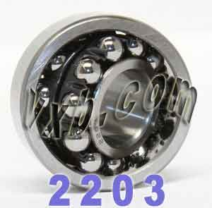2203 Self Aligning Bearing 17x40x16:vxb:Ball Bearings