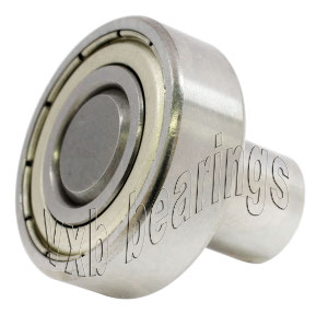 "3/16"" Inch Ball Bearing with integrated Axle:3/16""x5/16""x3/8"":VXB Ball Bearing"
