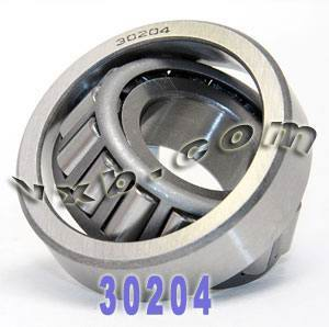 30204 Taper Roller Wheel Bearing 20mmx 47mmx 15.25mm CONE/CUP:vxb