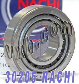 30205 Nachi Tapered Roller 25x52x16.25:Japan