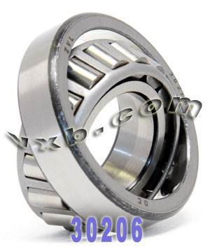 30206 Taper Roller Wheel Bearing 30x62x17.25 CONE/CUP:vxb