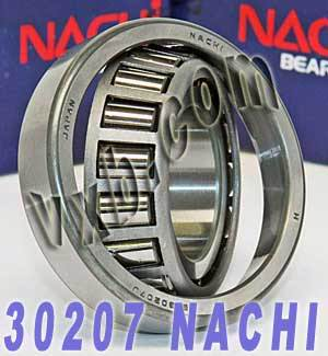 30207 Nachi Tapered Roller 35x72x17:Japan