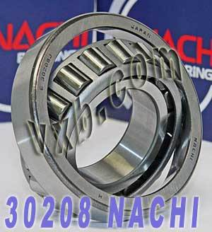 30208 Nachi Tapered Roller 40x80x18:Japan