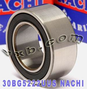 949100 4570 NACHI Double-row Auto Air Conditioning Angular Contact Ball Bearing 30x52x22:Japan:Ball Bearing