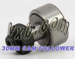 KR30 30mm Cam Follower Needle Roller:vxb:Ball Bearing