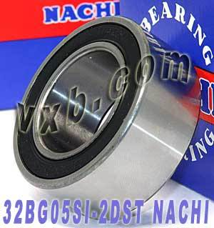32BG05S1-2DST NACHI Double-row Auto Air Conditioning Angular Contact Ball Bearing 32x55x23:Japan:Ball Bearing
