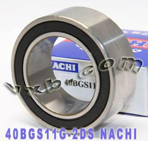 949100 2710  NACHI Double-row Auto Air Conditioning Angular Contact Ball Bearing 40x62x24:Japan:Ball Bearing