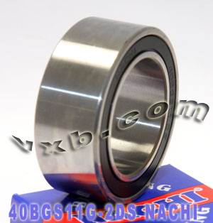 40BGS11G-2DS NACHI Double-row Auto Air Conditioning Angular Contact Ball Bearing 40x62x24:Japan:Ball Bearing