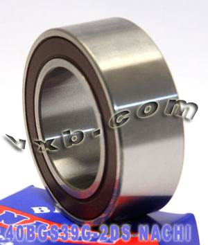 40BGS39G-2DS NACHI Double-row Auto Air Conditioning Angular Contact Ball Bearing 40x66x24:Japan:Ball Bearing