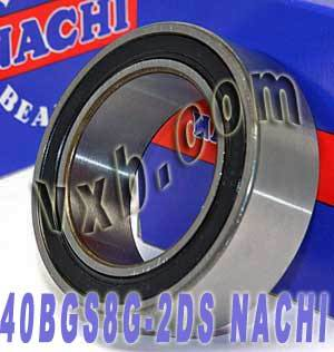 40BG62020-2DL NACHI Double-row Auto Air Conditioning Angular Contact Ball Bearing 40x62x20.6:Japan:Ball Bearing
