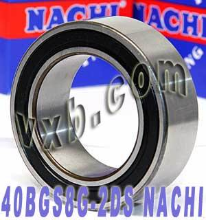 712019 NACHI Double-row Auto Air Conditioning Angular Contact Ball Bearing 40x62x20.6:Japan:Ball Bearing