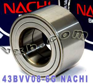 43BVV08-6GCS123 Nachi Automotive Wheel Hub Bearing 43x82x45:Japan:Ball Bearing