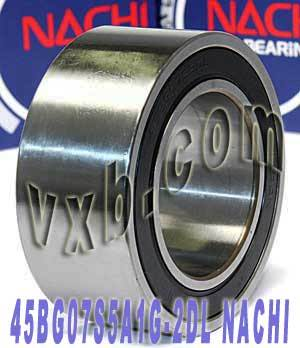 45BG07S5A1G-2DL NACHI Double-row Auto Air Conditioning Angular Contact Ball Bearing 45x75x32:Japan:Ball Bearing