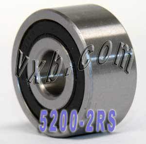 5200-2RS Bearing 10x30x14.3 Angular Contact:vxb:Ball Bearings