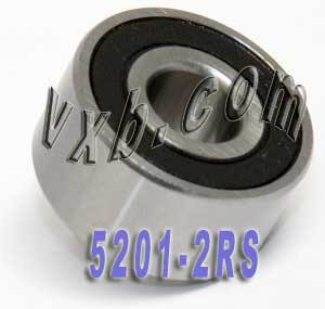 5201-2RS Bearing 12x32x15.9 Angular Contact:vxb:Ball Bearings