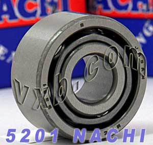 5201 Nachi Double Row Angular Ball Bearing