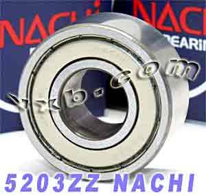 5203ZZ Nachi Double Row Angular Ball Bearing
