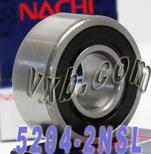 5204-2NSL Nachi Double Row Angular Ball Bearing