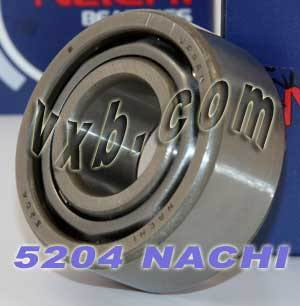 5204 Nachi Double Row Angular Ball Bearing