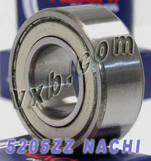 5205ZZ Nachi Double Row Angular Ball Bearing