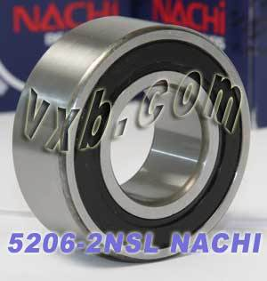 5206-2NSL Nachi Double Row Angular Ball Bearing
