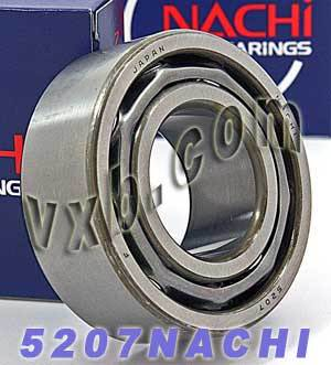 5207 Nachi Double Row Angular Ball Bearing