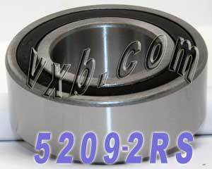 5209-2RS Bearing 45x85x30.2 Angular Contact:vxb:Ball Bearing