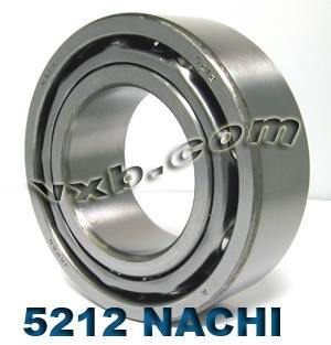 5212 Nachi Double Row Angular Ball Bearing