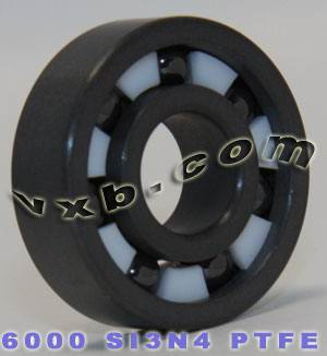 Full Ceramic 6000 Bearing 10x26x8 Silicon Nitride:vxb:Ball Bearing