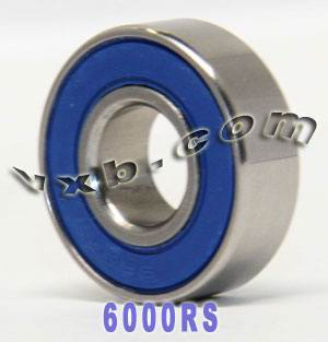 6000RS Bearing 10x26x8 Sealed:vxb:Ball Bearing