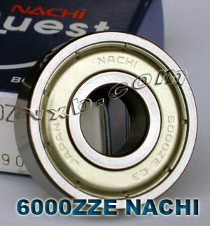 6000ZZE Nachi Ball Bearing:10x26x8:Japan