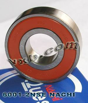 6001-2NSE Nachi Bearing 12x28x8 Sealed C3 Japan Ball Bearings