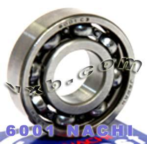 6001 Nachi Bearing 12x28x8:Open:C3:Japan